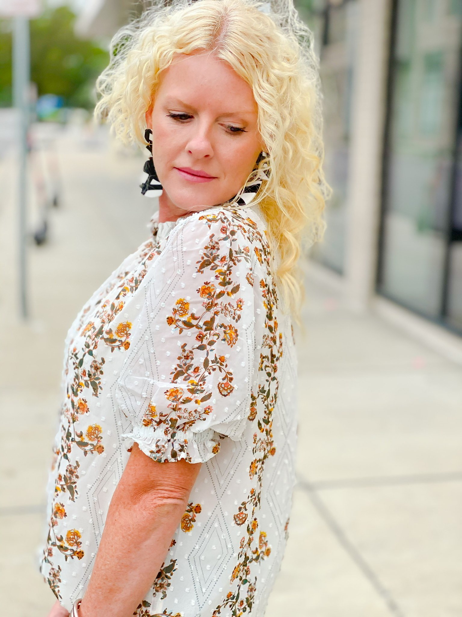 Belcourt Blouse by Good Hart a clothing line by Matilda Jane