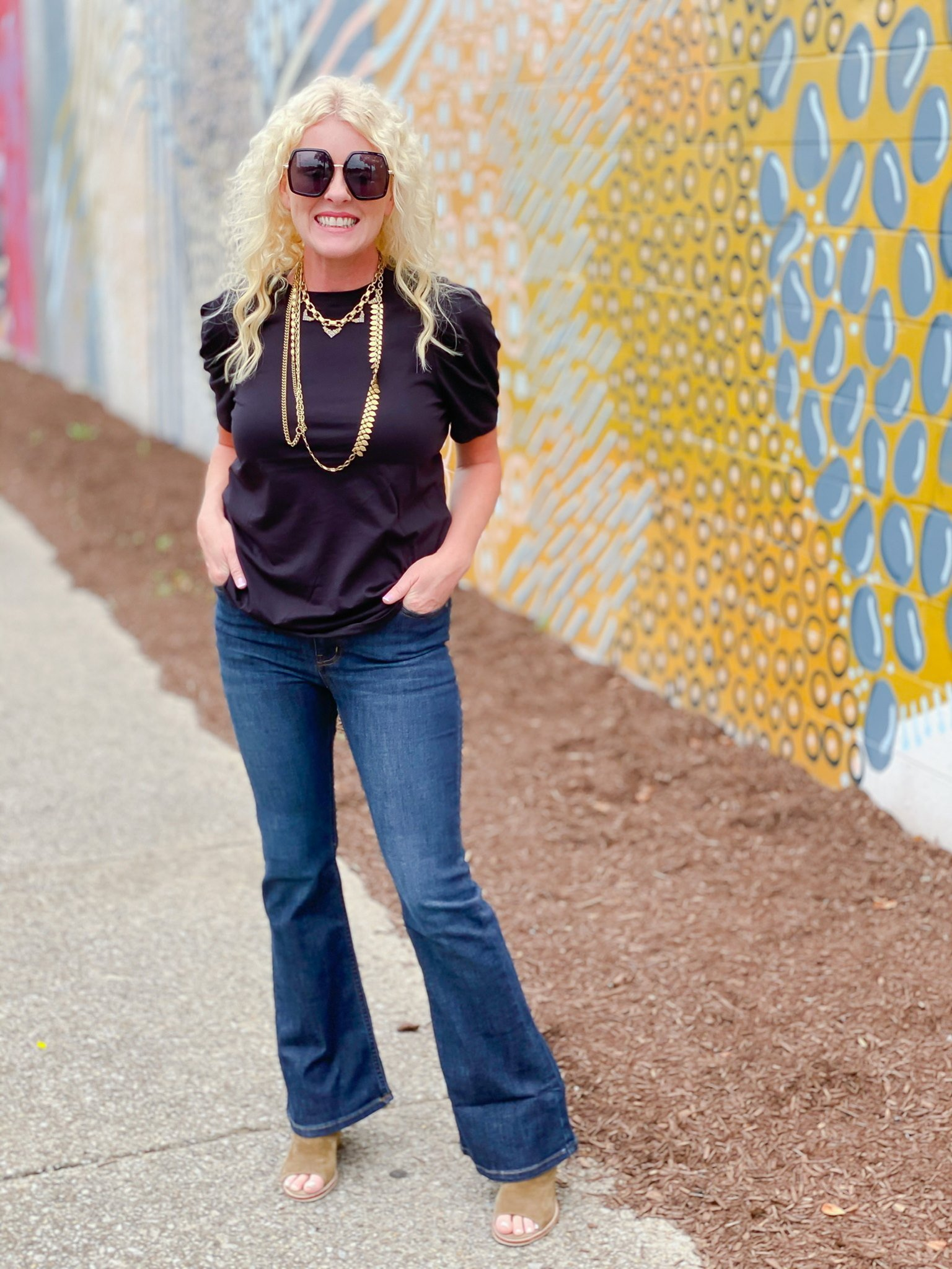 Bellflare pant by Good Hart, a womens clothing line by Matilda Jane