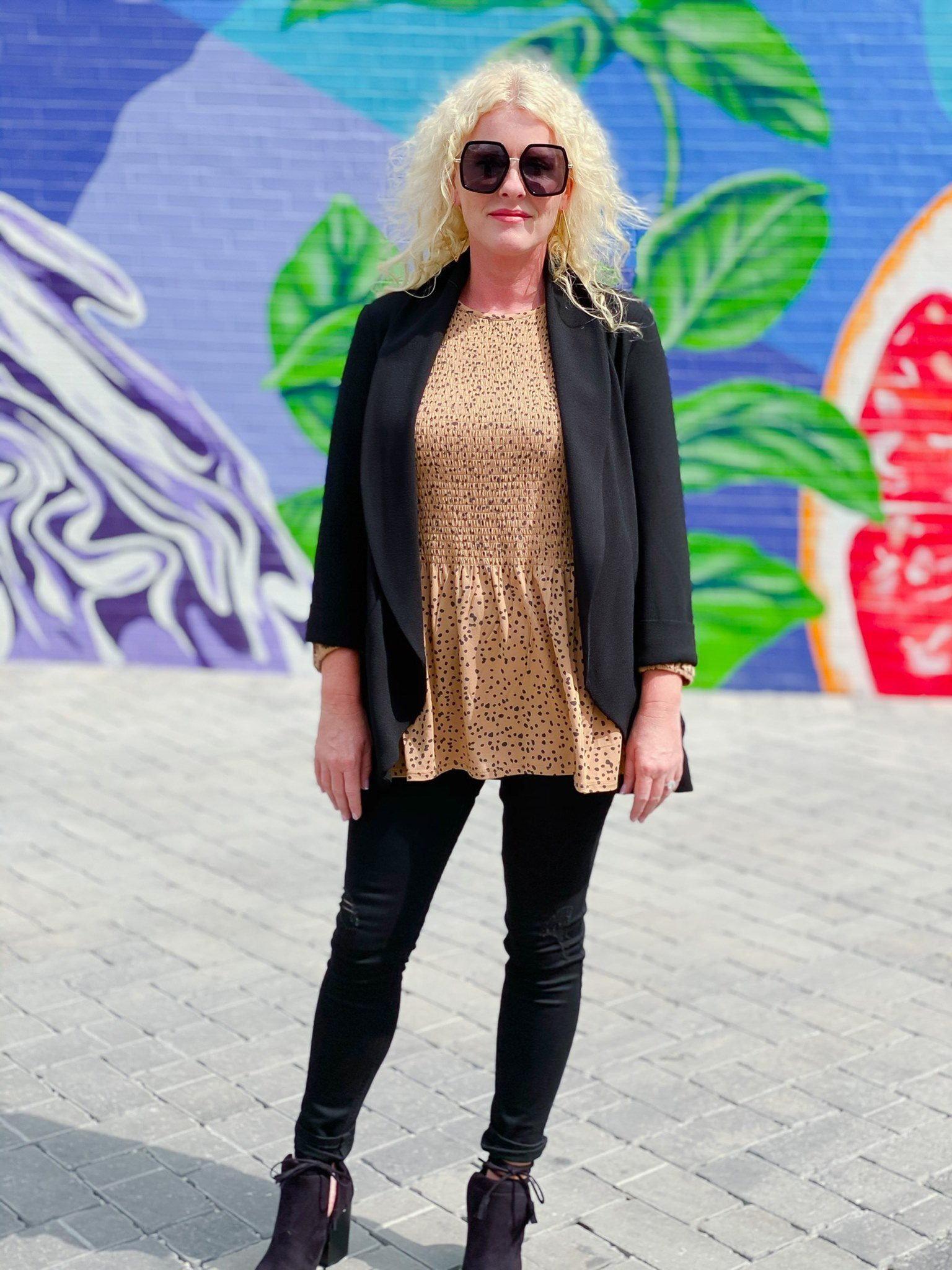 Black Sommerset Skinny Jean by Good Hart