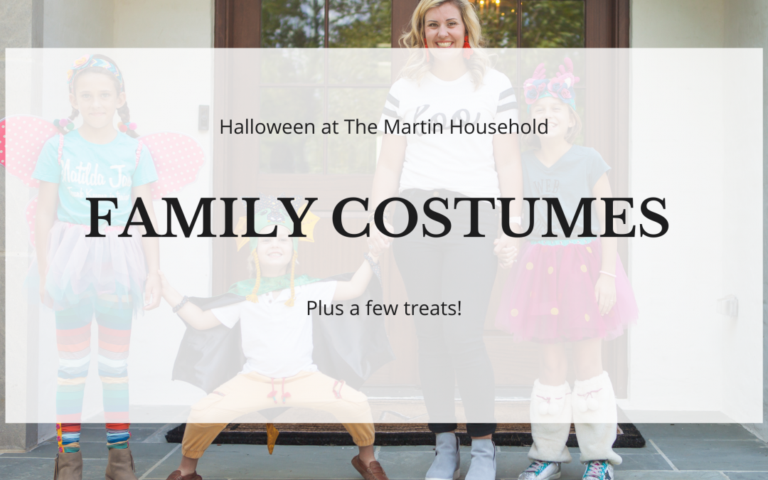 Halloween at The Martin Household (Plus a few treats!)
