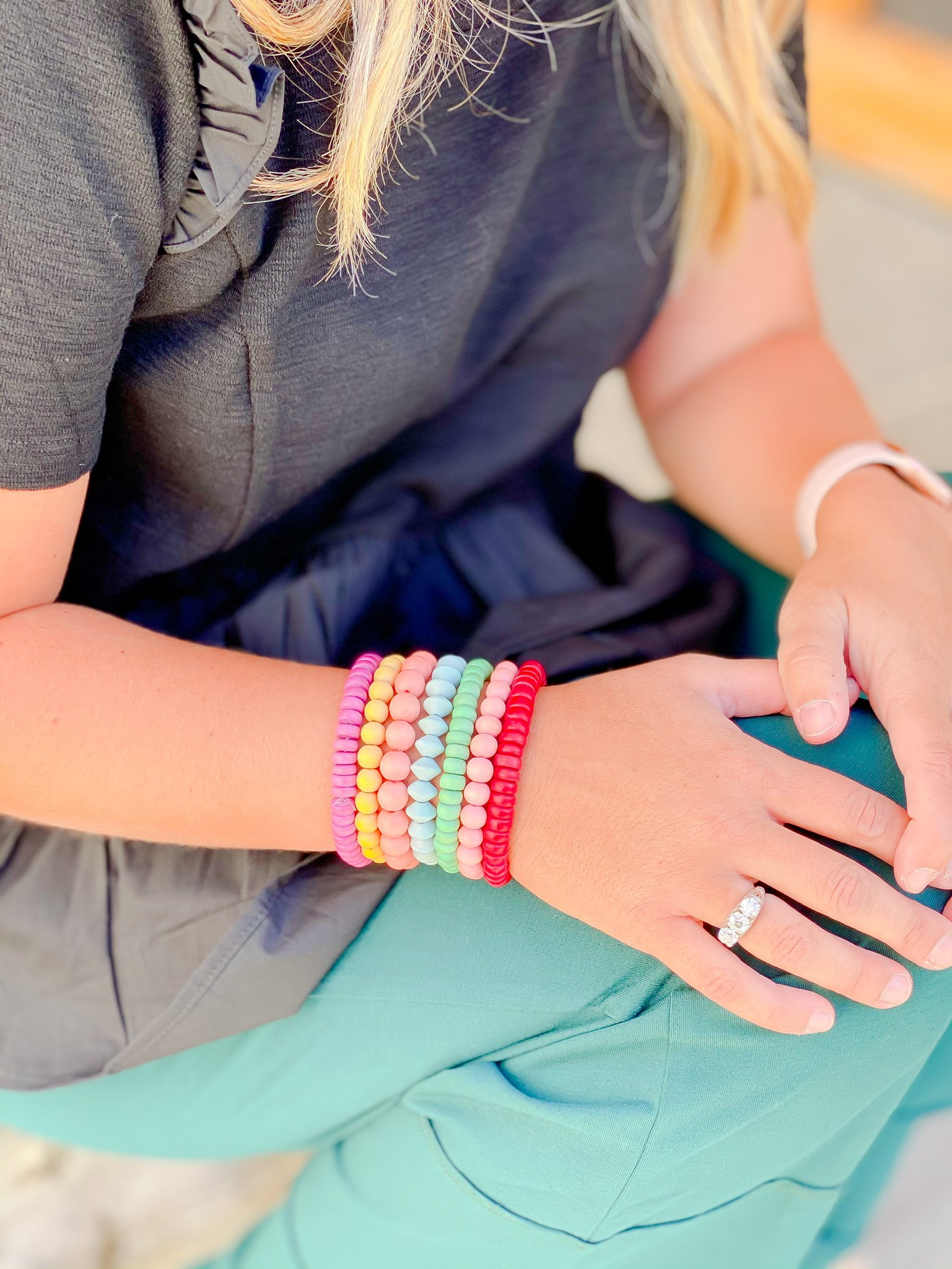 Stackable Bead Bracelets by Kristin Fast Limited