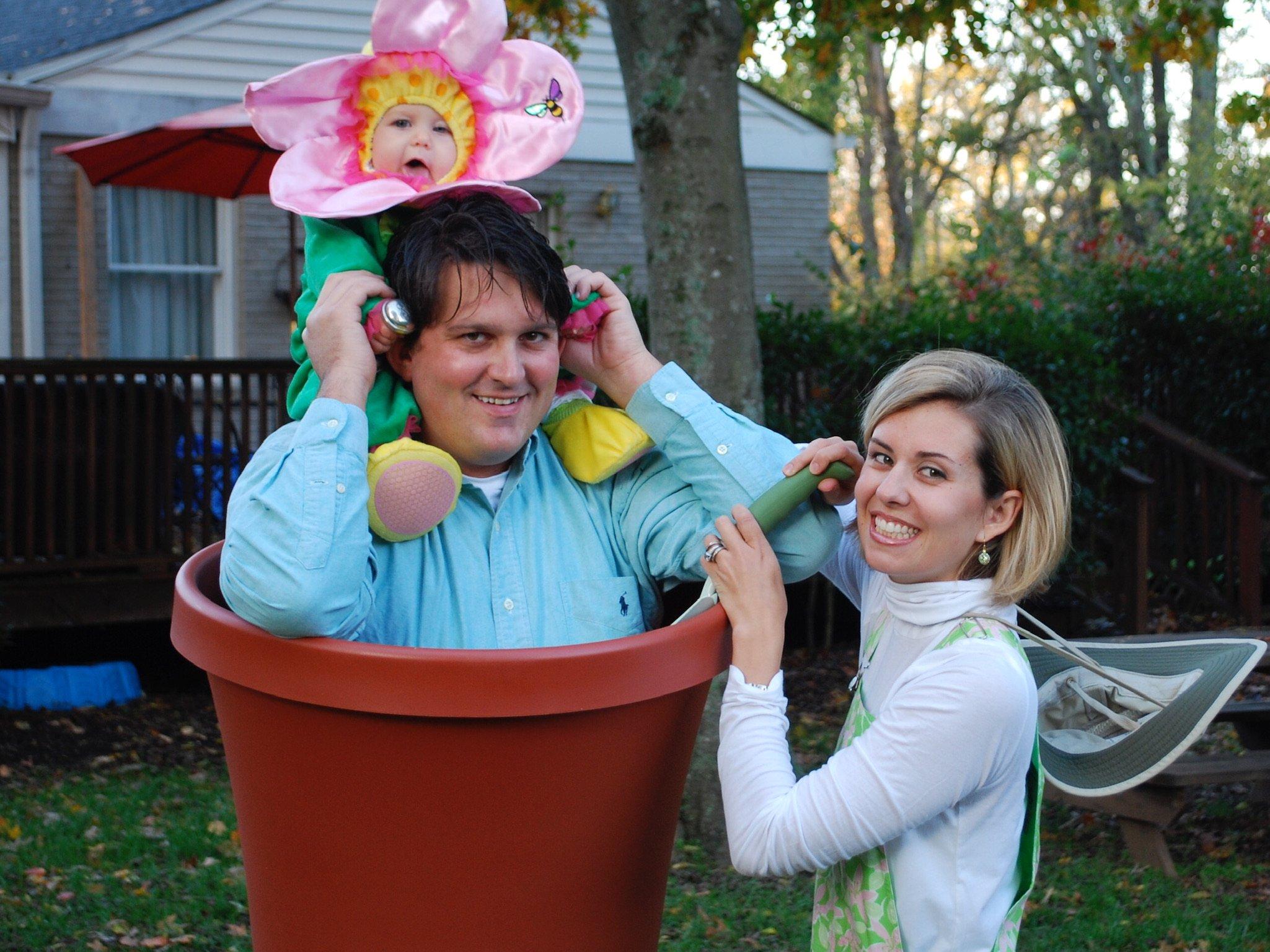Flower Pot Family Halloween Costume