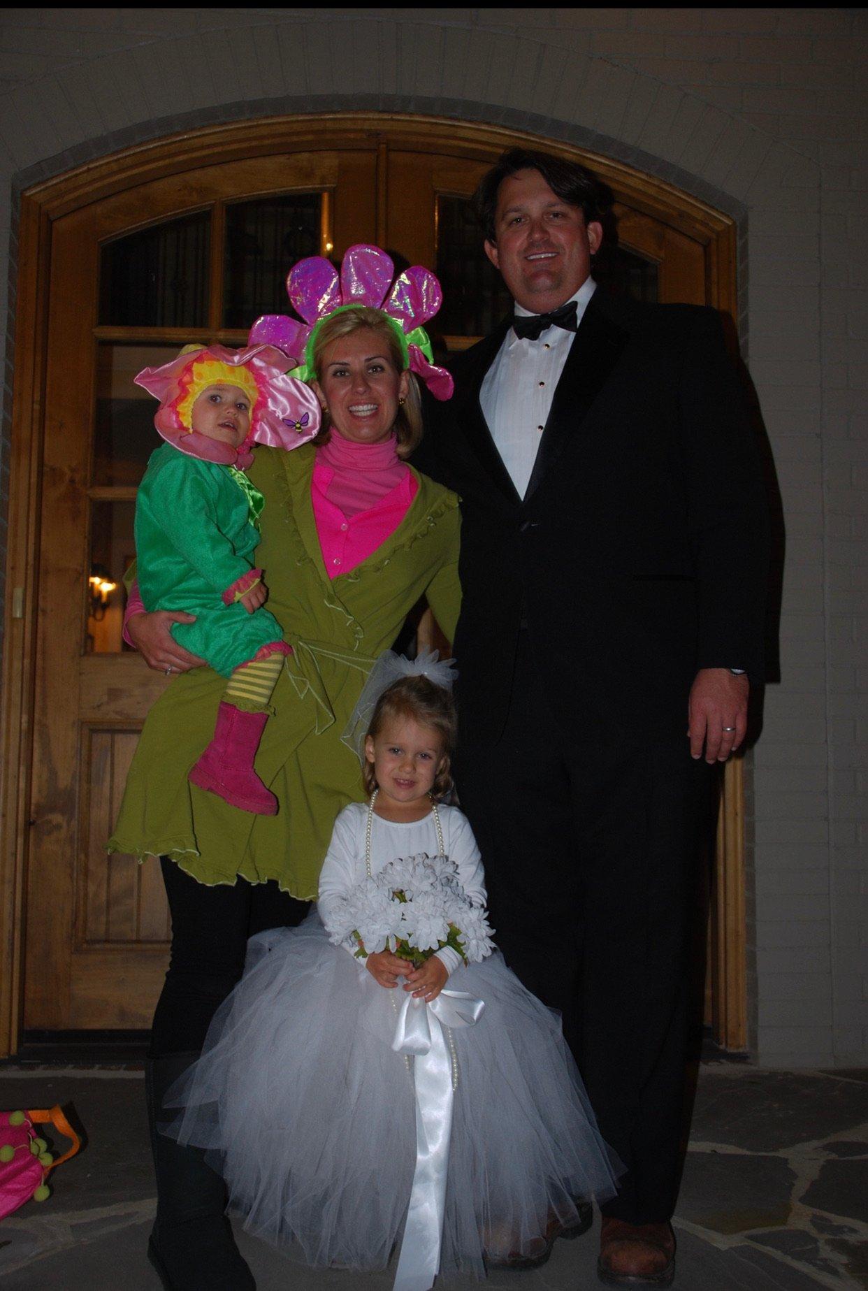 wedding Halloween family costume