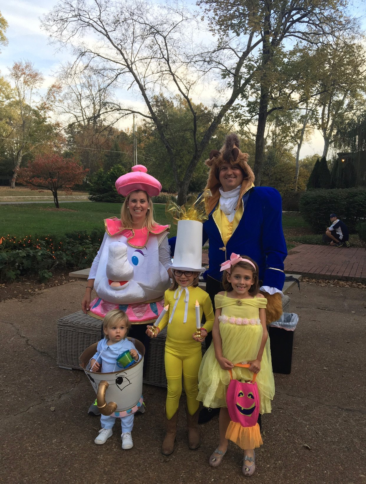 Beauty and The Beast family halloween costume