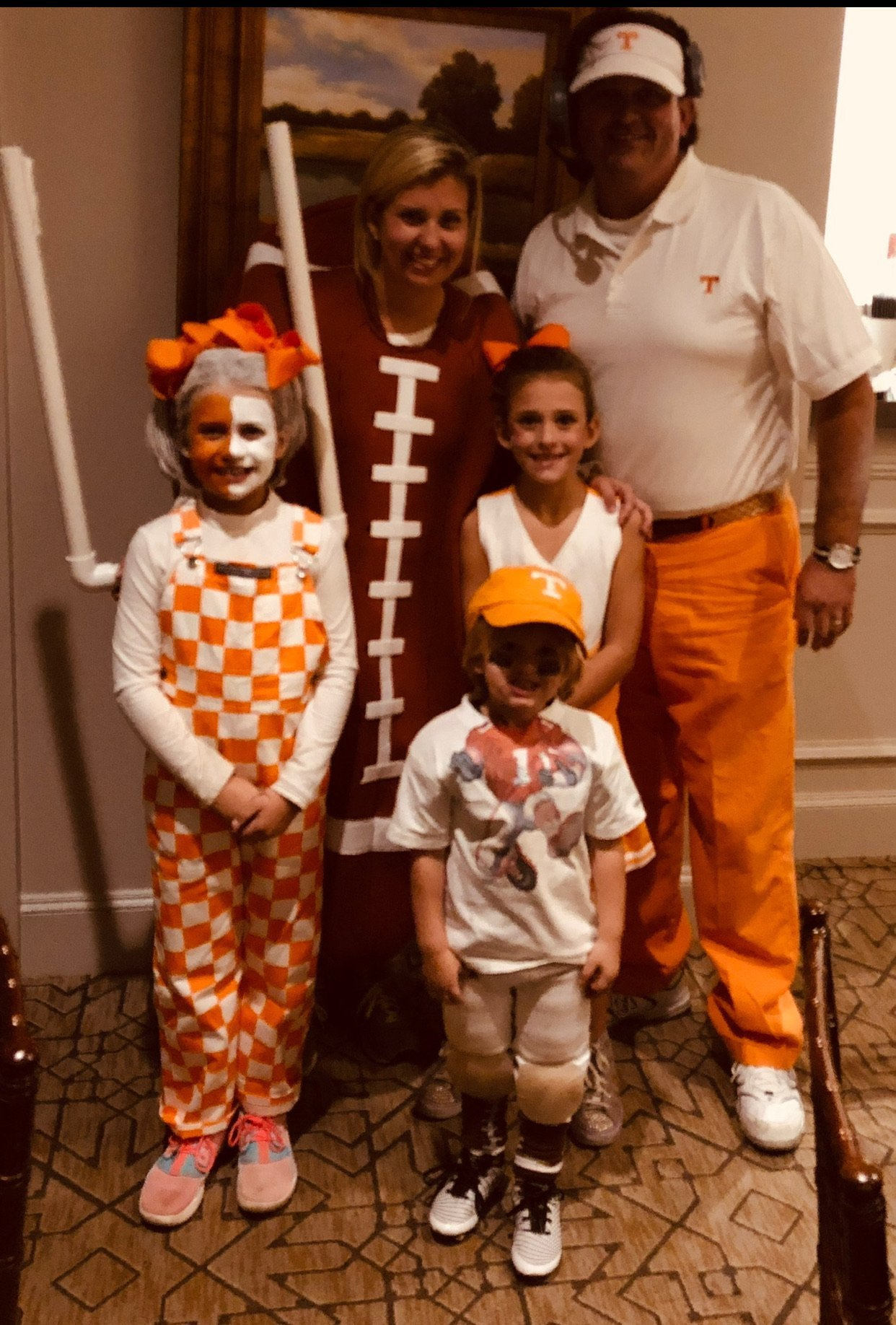 The Vols Family Halloween Costume