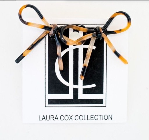 Bow earrings from the Laura Cox Collection