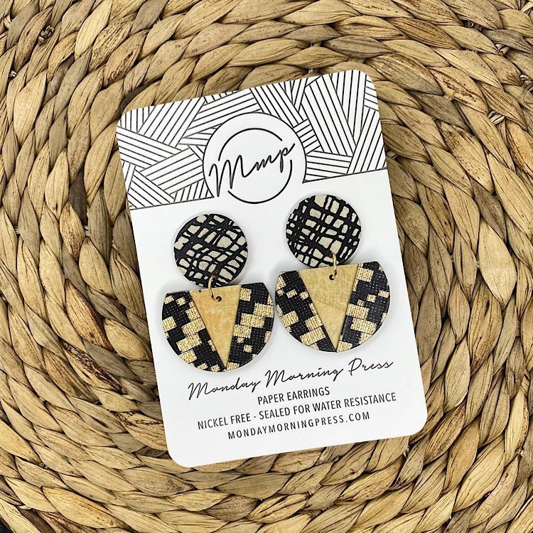 Monday Morning Press Earrings