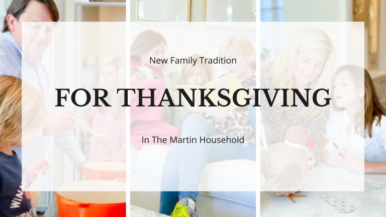 Our New Thanksgiving Tradition… flexing that gratitude muscle