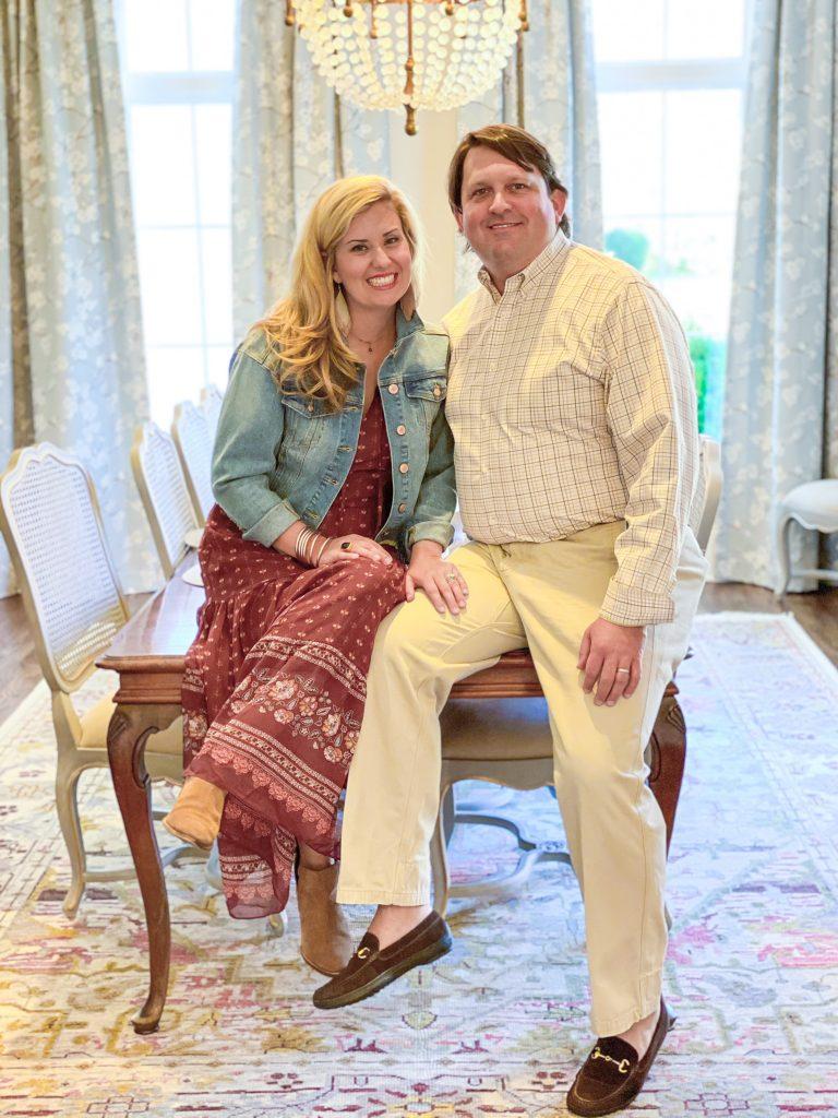 Catherine and Husband, JT