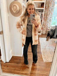 Catherine Martin in Flare Jeans by Good Hart
