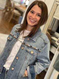 Jean Jacket worn with Be the Good Shirt